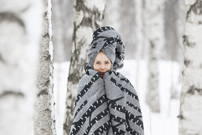 birch towel