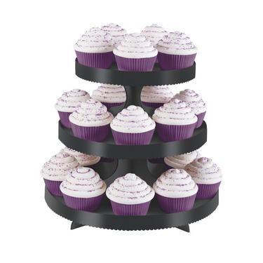 Wilton Cupcake Stand Kit Black | Spotlight New Zealand