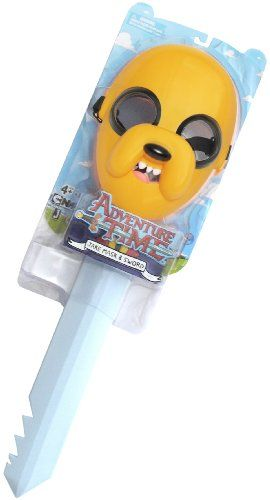 Jake Sword & Mask: Adventure Time with Finn & Jake Pretend Play Series @ niftywarehouse.com #NiftyWarehouse #AdventureTime #TVShow #Cartoon #Show #CartoonNetwork
