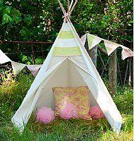Vintage Toile Teepee Lime/pink: Tees Pee, Creations Baby, Teep Limes Pink, Pee Tent, Toile Tees, Parties Products, Vintage Toile, Toile Teep, Tent Limes Pink