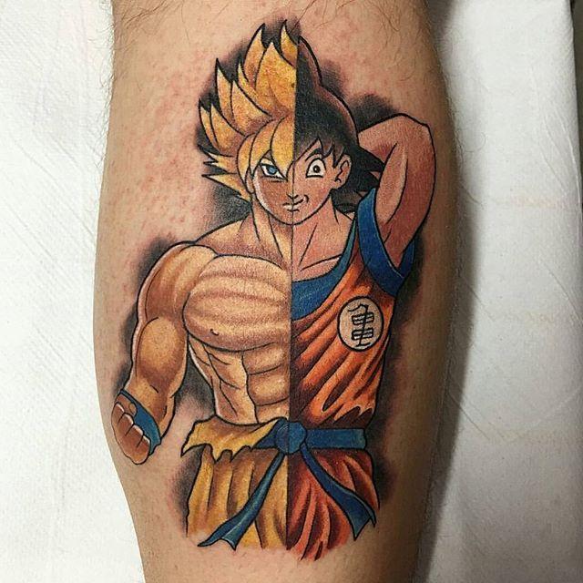 34 Best Goku Tattoo Images On Pinterest