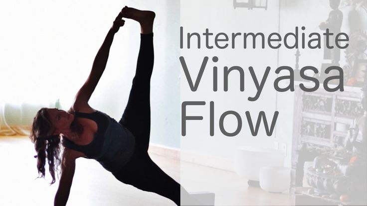 Lululemon Ambassador Free yoga class (Intermediate Vinyasa Flow) with Le... really good flow & easy to follow <3