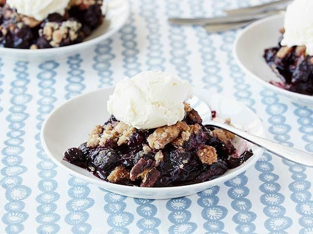 The Neely's Blueberry Crisp