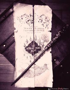 Potter Frenchy Party - Une fête chez Harry Potter: Travaux pratiques : la carte du maraudeur [grand format]
