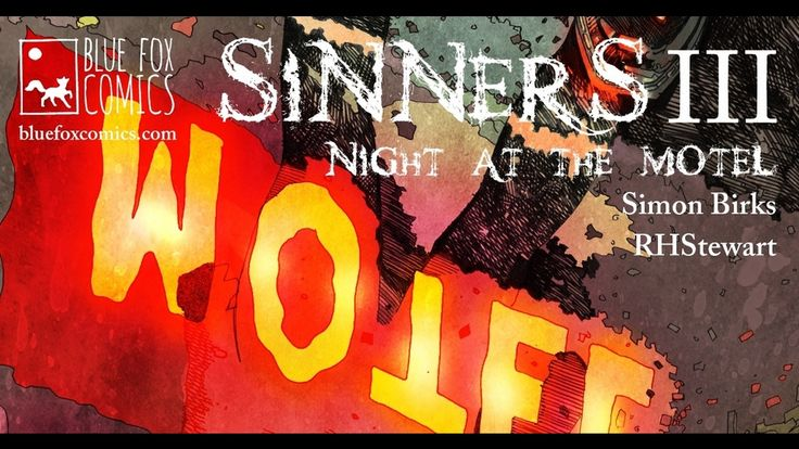 Sinners III Supernatural/Horror Comic - Night at the Motel project video thumbnail