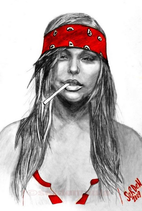 Hippie Girl -(i draw my dreams). $95.00, via Etsy.   Art ...
