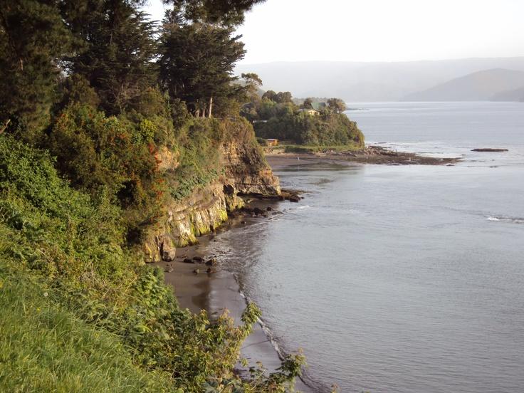 Fuerte Niebla, Valdivia, Regiòn de Los Lagos. Chile