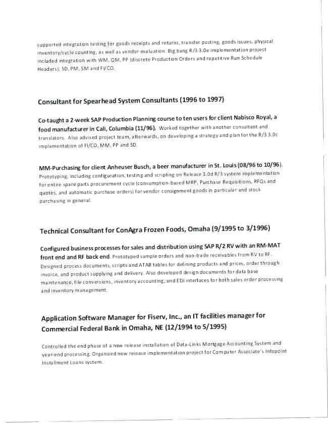 31 Technical Project Manager Resume 8211 Pick A Resume Template