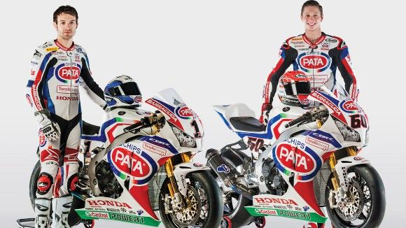 Team Pata Honda WorldSBK 2015