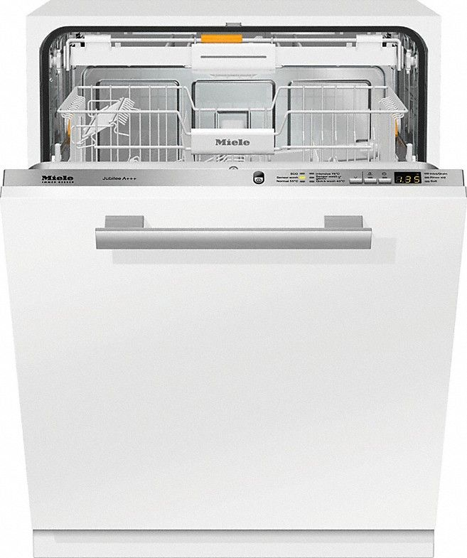 G 6060 SCVi Jubilee A+++ - Fully integrated dishwashers with 3D cutlery tray and energy efficiency class A+++ for maximum convenience.--NO_COLOR