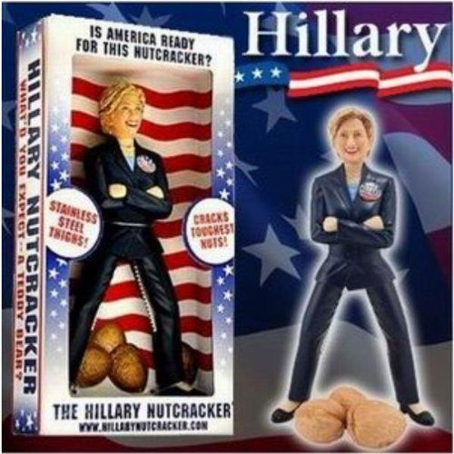 """Hillary Clinton Stainless Steel Nutcracker Case Pack 6 - 754962 by DDI. $82.99. Allof theproductsshowcased throughoutare100%OriginalBrand Names.. Please refer to the title for the exact description of the item. 100% SATISFACTION GUARANTEED. The Hillary Clinton Nutcracker will crack smiles and nuts with stainless steel teeth secured in the upper legs. Each piece measures 9"""""""" Tall x 4 inches wide and comes gift boxed in a patriotic retail package. Retail Value ..."""