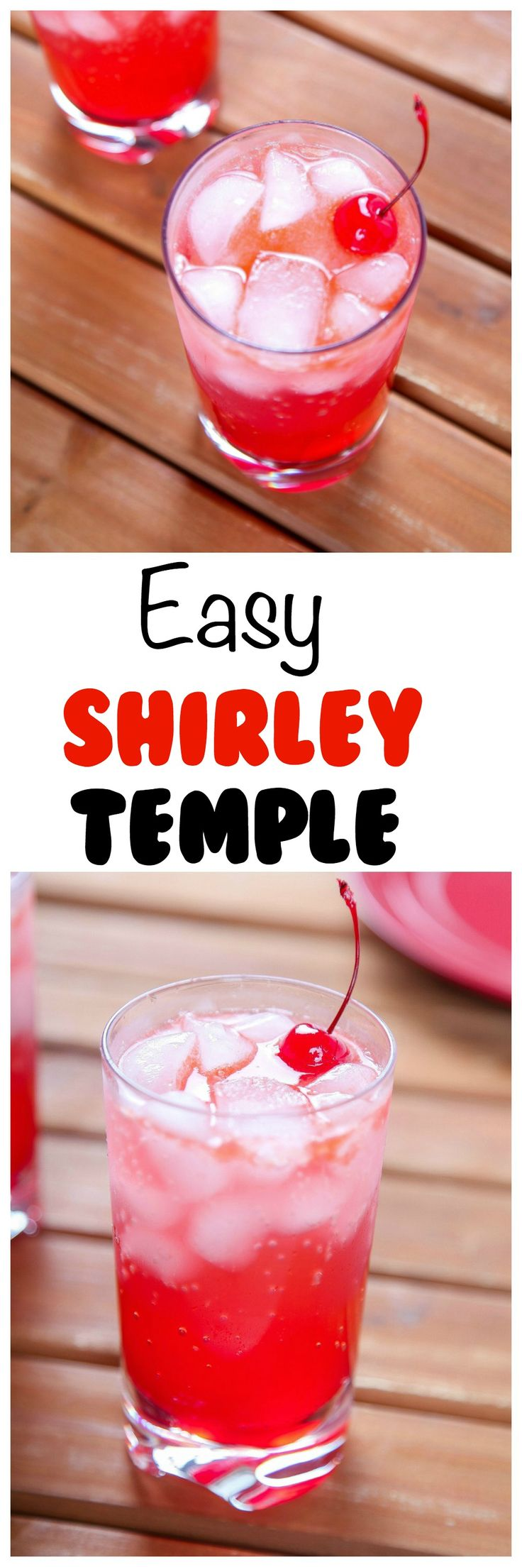 This shirley temple mocktail is the perfect evening drink for the non-alcoholic folks. This shirley temple mocktail also makes a great…