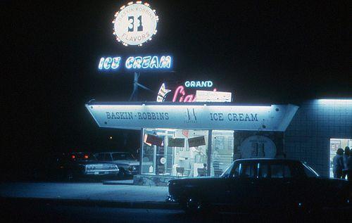 Baskin Robbins- San Diego, 1965 - FuckYeahVintage-Retro