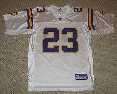 Reebok NFL Equipment Mens Michael Bennett  Minnesota Vikings Jersey White-M
