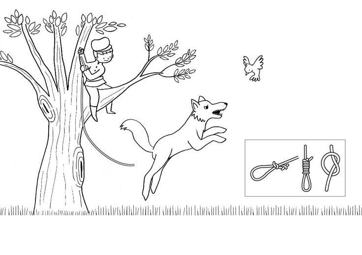 ausmalbild m rchen peter und der wolf zum ausmalen kostenlos ausdrucken coloring 6