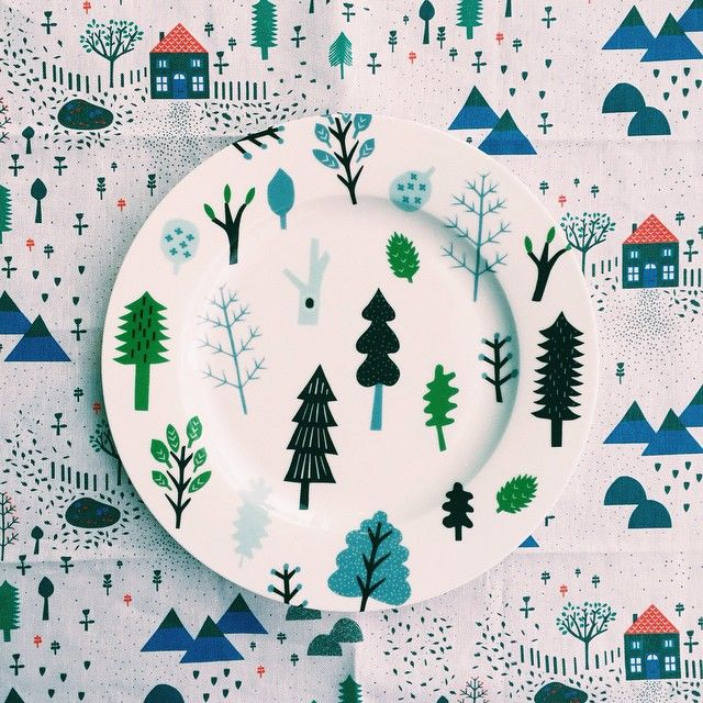 Happy Friday! We hope you enjoy the outdoors this weekend. x Our Forest Plate and Mountain Home Tea Towel at the K+ Donna Wilson exhibition and pop-up in Singapore, more info here: http://www.donnawilson.com/2015/04/17/k-donna-wilson-exhibition-pop-up-shop-in-singapore-opening-this-friday