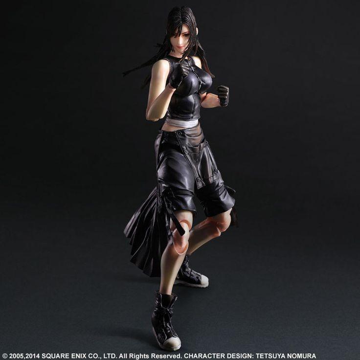 Final Fantasy VII Advent Children Play Arts Kai Actionfigur Tifa 26 cm