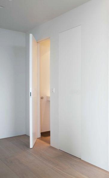 puertas blancas sin marco puertas integradas arcon doorlovers