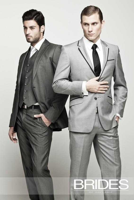On Trend 2017 Mens Wedding Suiting Shades Of Grey Are Also The Colour To