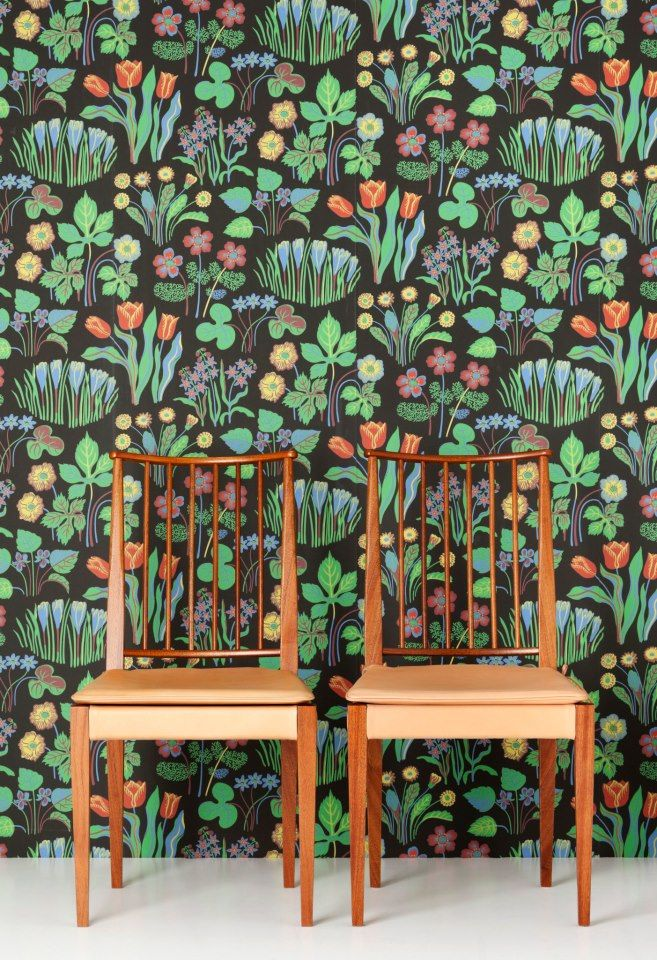 Josef Frank wallpaper, Svenskt Tenn                                                                                                                                                                                 More