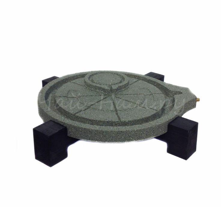 Чайный поднос (Камень) 30х30х4 см купить