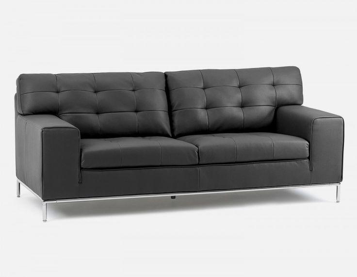 ARIA - 3-seater sofa - Black