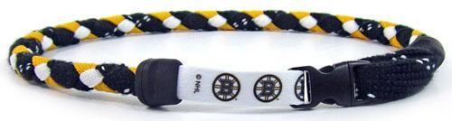 NHL Boston Bruins Hockey Skate Lace Swannys Necklace 20 Large