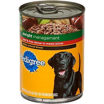 Pedigree Canned Dog Food Recall