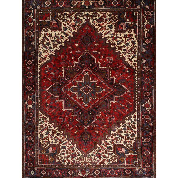Traditional Orange Red Brown Area Rug In 2020 Area Rugs