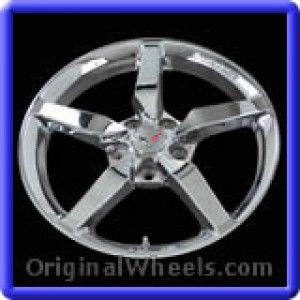 Chevrolet Corvette 2014 Wheels & Rims Hollander #5630  #Chevrolet #Corvette #ChevyCorvette #2014 #Wheels #Rims #Stock #Factory #Original #OEM #OE #Steel #Alloy #Used