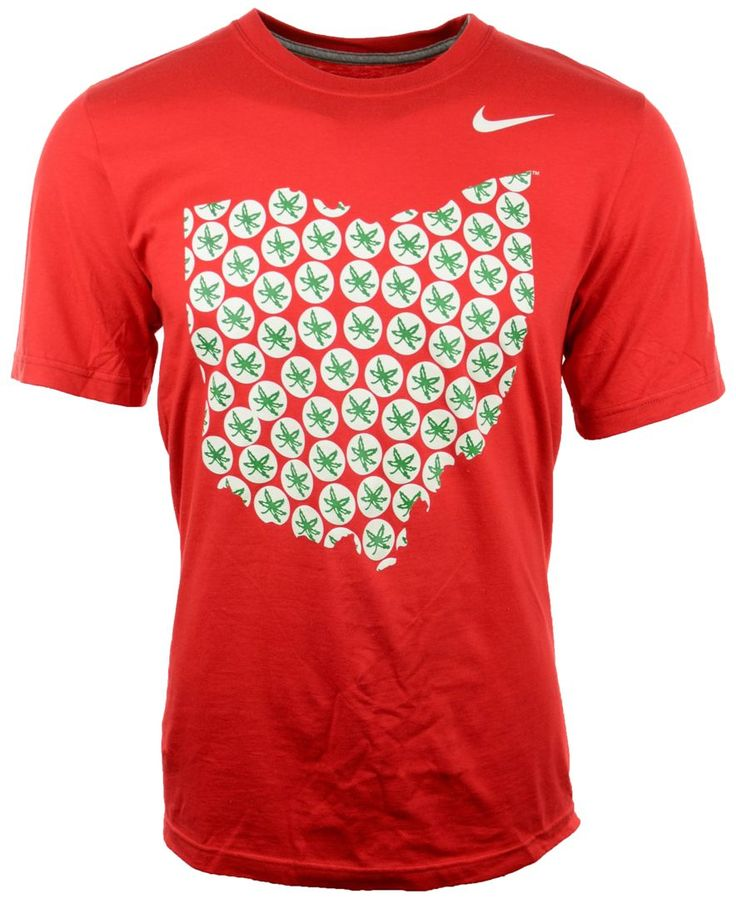 Nike Men's Short-Sleeve Ohio State Buckeyes T-Shirt