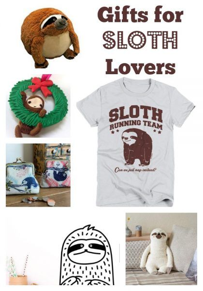 Gifts for Sloth Lovers of All Ages