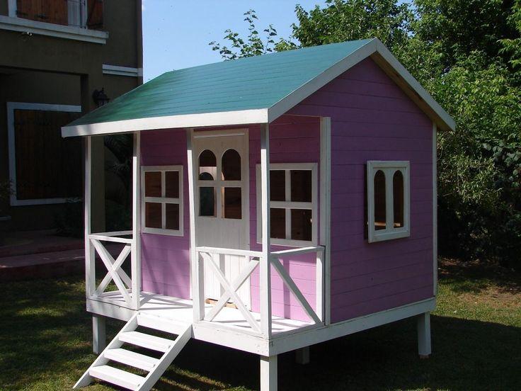 11 best casas de mu ecas images on pinterest doll houses - Casas de madera para ninos ...