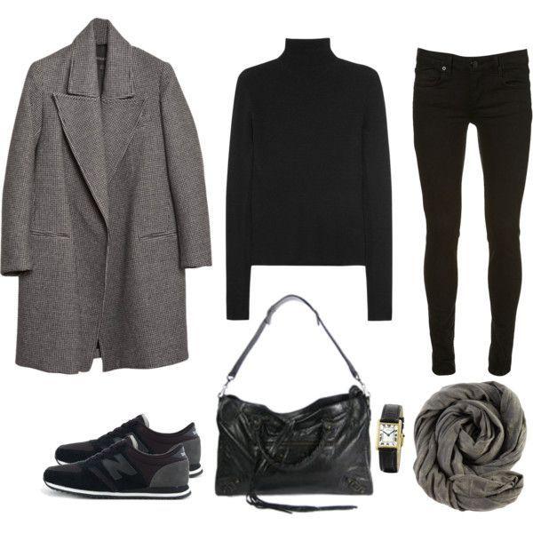 18 schwarze Outfits um deine Looks zu knallen