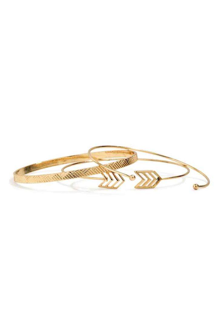 3-pack bangles | H&M