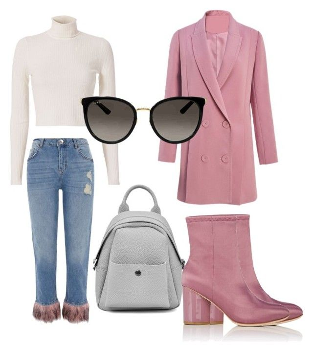 Untitled #664 by cathatin on Polyvore featuring polyvore, fashion, style, A.L.C., River Island, Opening Ceremony, Gucci and clothing