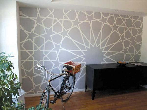 How To Create Your Own Wall Stencil ~ Http://modtopiastudio.com/ Part 36