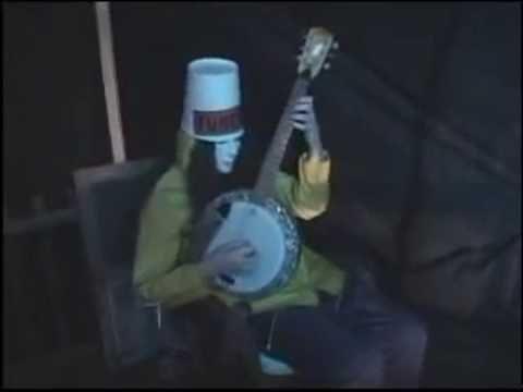 Buckethead Playing Banjo