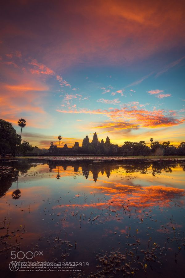 Great Morning of Angkor Wat Temple! (ខតតសមរប) by MardySuongPhotography. Please Like http://fb.me/go4photos and Follow @go4fotos Thank You. :-)