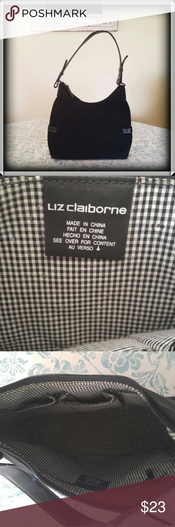 NWOT Liz Claiborne Purse Never used black Liz Claiborne purse Liz Claiborne Bags Shoulder Bags
