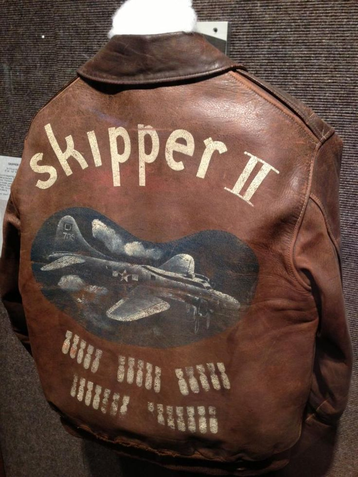 Image detail for -Thread: WWII Bomber Jacket Art