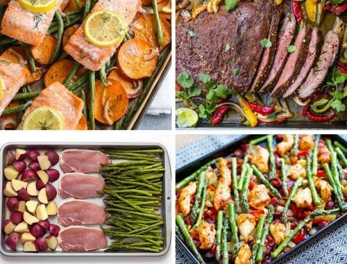"""Sheet pan dinners are ALL THE RAGE right now, especially when it comes to cooking healthy meals in jiffy. Standing before a pre-heated oven with a plethora of ingredients and an empty oven tray, you ask, """"Will this work?"""" Hopefully, you've been granted with pleasantly surprising, filling and colourful meals over and over with this"""