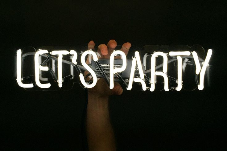 Let's Party ($140)   Found: Neon Signs For a Steal!   POPSUGAR Home