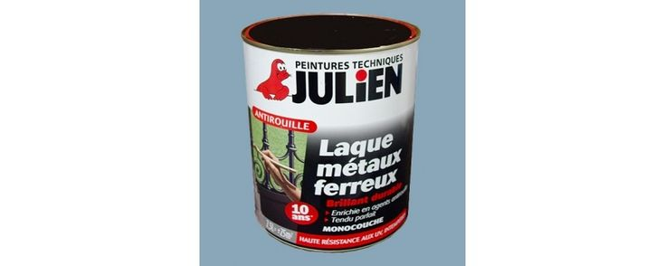 Achat / Vente Peinture JULIEN Antirouille laque métaux ferreux 2,5L pas cher
