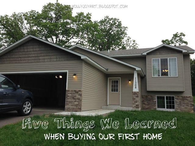 Five Things We Learned When Buying Our First Home - tips from one first-time homebuyer to another :)