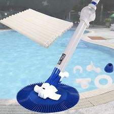Giantex Automatic Inground Above Ground Swimming Pool Cleaner Vacuum Hose  Climb Wall