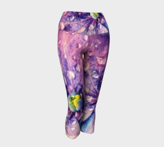 Hydrangea Yoga Capris preview