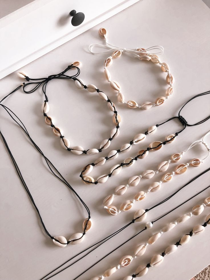 shell necklaces  – Schmuck – #Necklaces #Schmuck #Shell