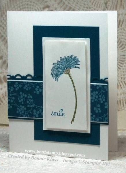 Reason to Smile by bon2stamp - Cards and Paper Crafts at Splitcoaststampers