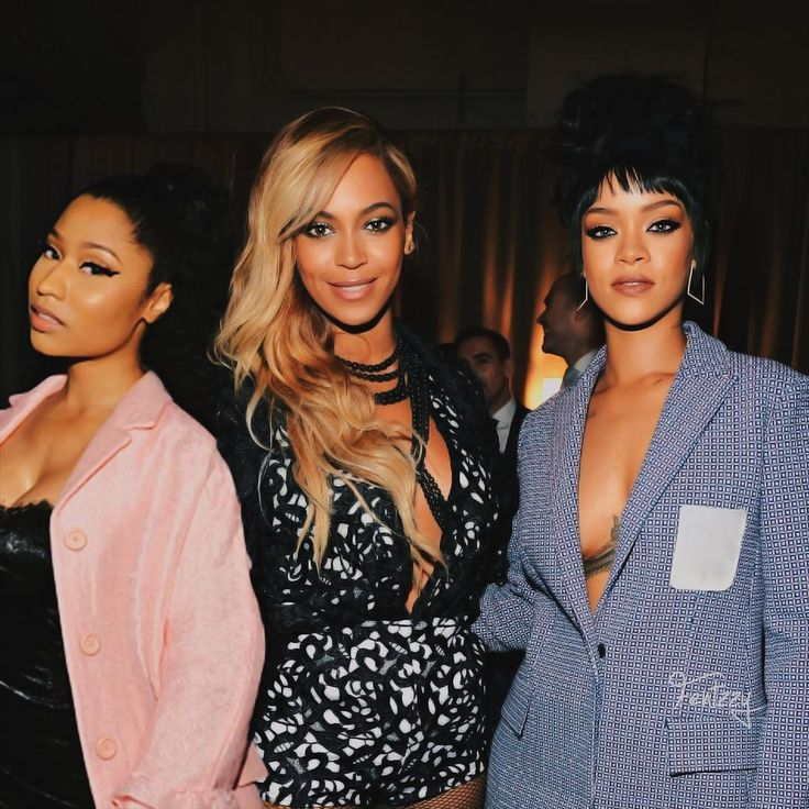 Beyonce, Rihanna & Nicki Minaj